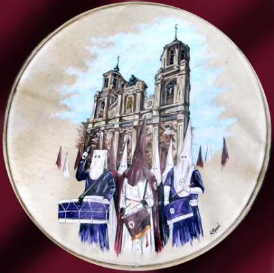 Cofradías del Descendimiento y Jesus camino del Calvario de Zaragoza