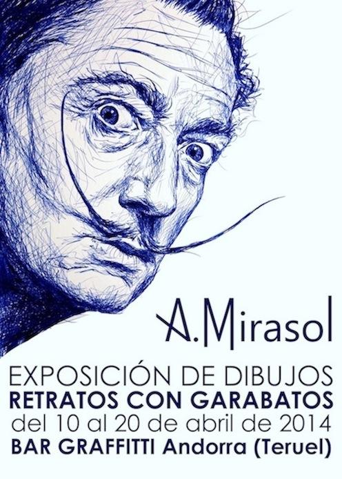 Exposición, Retratos con Garabatos