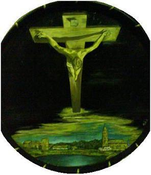 Cristo de Dalí en Híjar