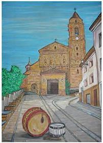 Iglesia de Híjar en Semana Santa