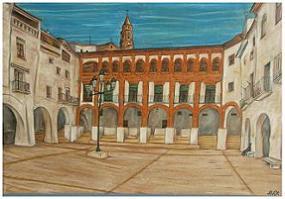 Plaza de la Villa (Híjar)