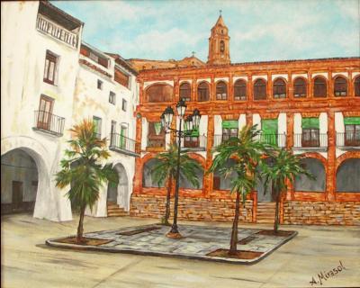 Antigua Plaza de la Villa de Híjar