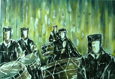 Cuadrilla de tambores de Híjar