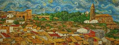 Vista panorámica de Híjar