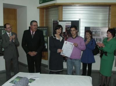Entrega del premio del Cartel de la Ruta del Tambor y Bombo 2010