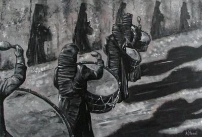 Las sombras del tambor