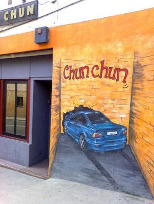 Decoración Pub Chun Chun