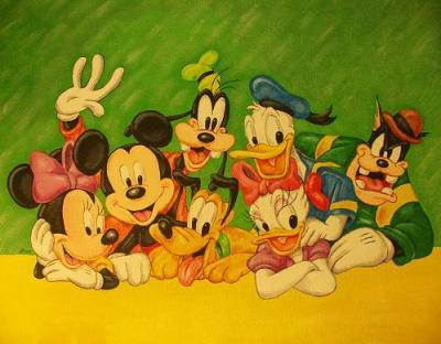 Decoración habitación Disney