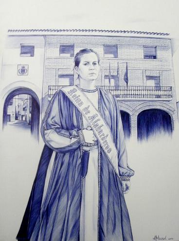 Reina de Alabarderos (La Puebla de Híjar)