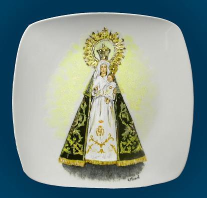 """PLATO """"Virgen"""" (Espinosa de los Monteros)"""