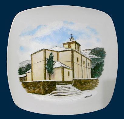 """PLATO """"Ermita"""" (Espinosa de los Monteros)"""