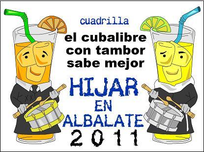 Pegatinas Jornadas Nacionales (Albalate 2011)