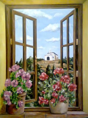 Ventana y ermita de San Gregorio