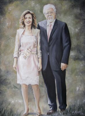 Carmen y Vicente, Bodas de Plata