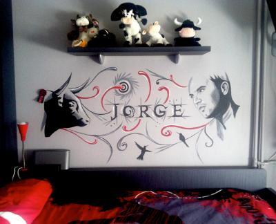 Decoración habitación Jorge